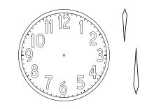 Malvorlagen Uhr Ums