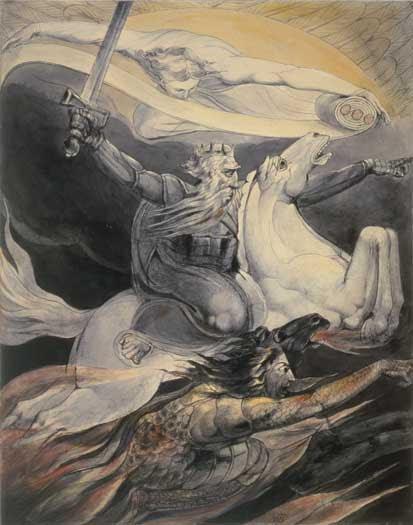 william blake dragon. William Blake