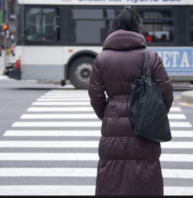 street crossing ladu waiting Haiku