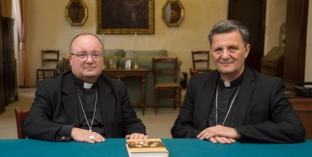 Archbishop Charles Scicluna and Bishop Mario Grech
