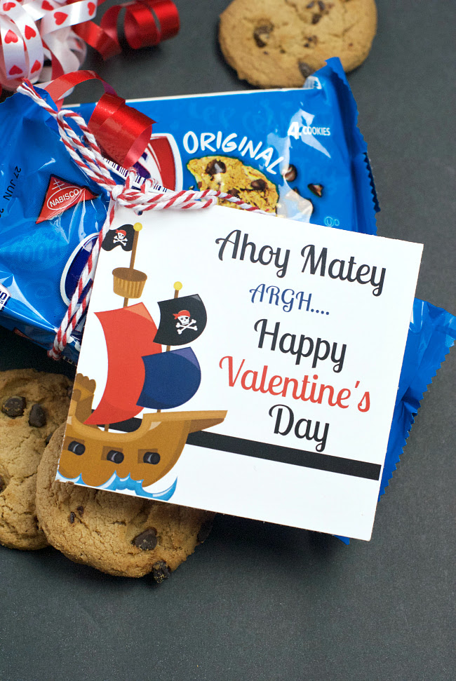 Chips Ahoy Valentine Idea