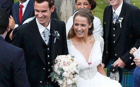 Video: Andy Murray and Kim Sears' wedding highlights