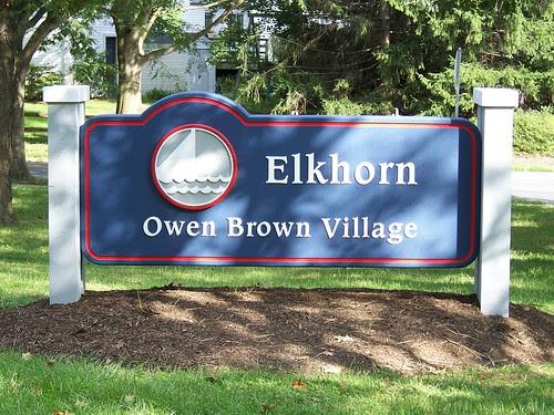 elkhorn sign