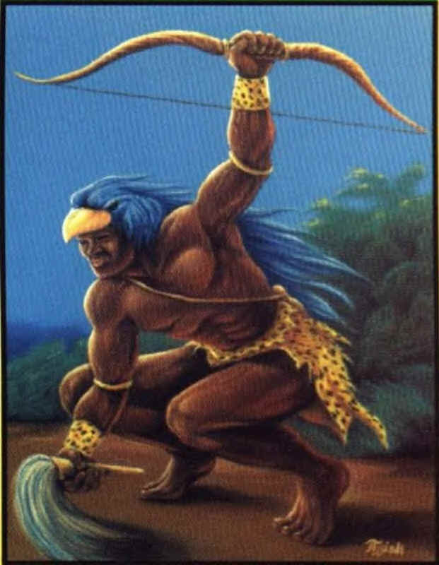 Oshosi en tarot económico por visa  Oshosi es un Osha del grupo de Orisha Oddé, comúnmente llamados Los Gerreros .
