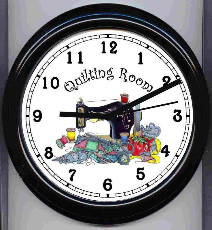 quilt room clock