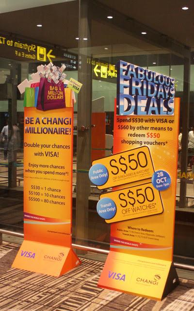 Promos at Changi Airport