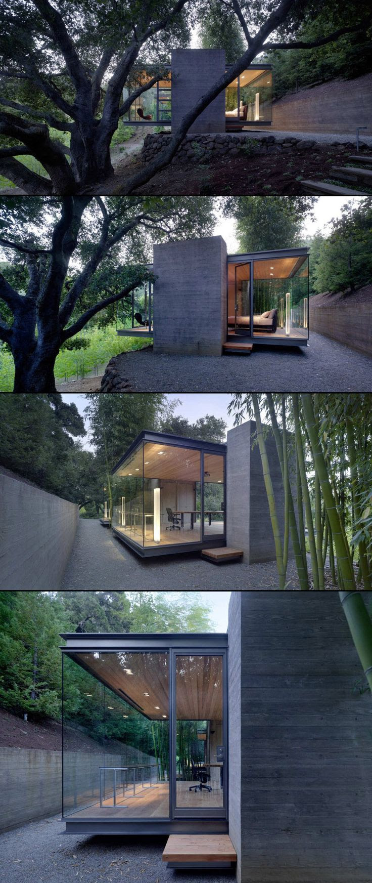 cool project... || Tea House by Swatt | Miers Architects #modern #architecture