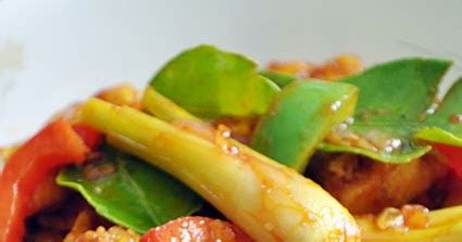 rempah ratus ayam goreng masam manis ala thai