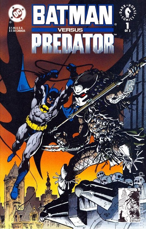 Batman Vs Predator Comic Worth