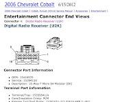 Get 2008 Chevy Cobalt Radio Wiring Diagram Pics