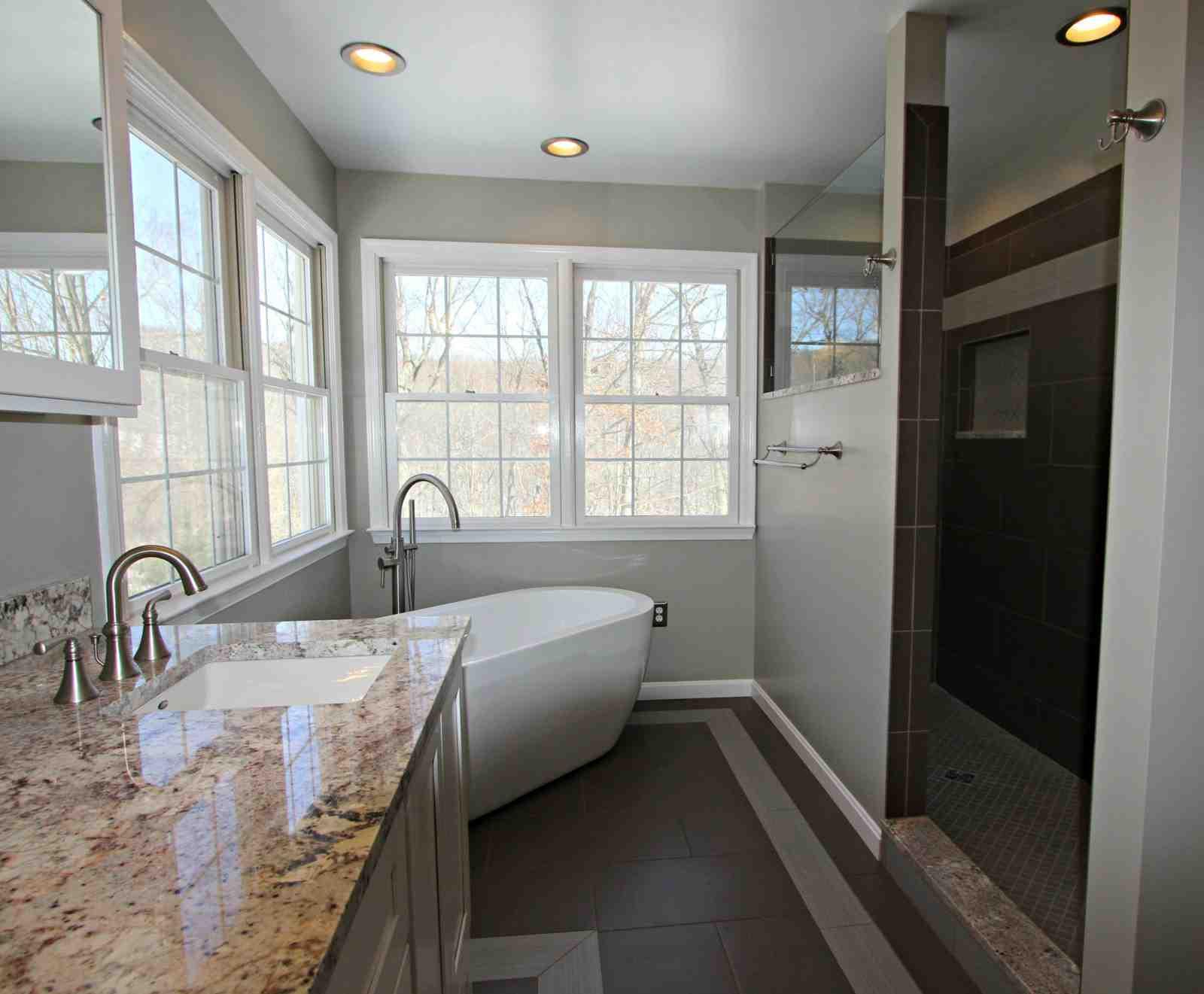 Parkton Freestanding Tub Bathroom - Taylor Made Custom ...