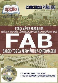 Apostila FAB SARGENTO DA AERONÁUTICA - ENFERMAGEM