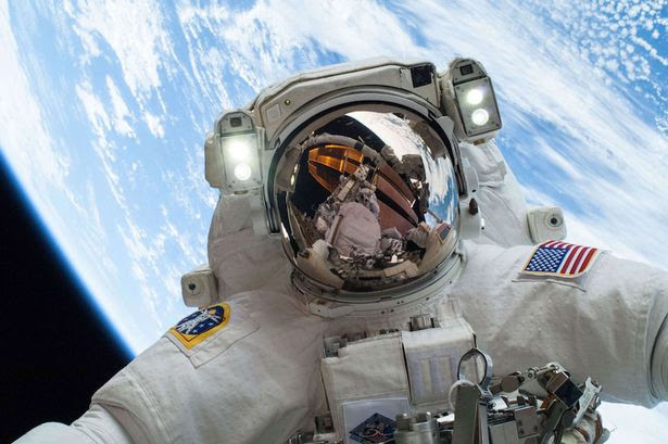 Moment of reflection: NASA astronaut Mike Hopkins