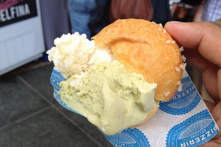 SF Chefs 2013 - Gelato in Brioche by Gelateria Delfina