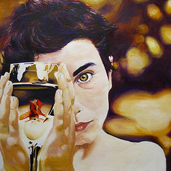 Oil Paintings: The Boy With The Sun In His Eye… by Gabrielle Agius