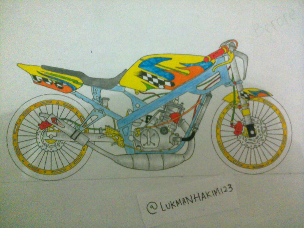 Gambar motor fu kartun gambar om