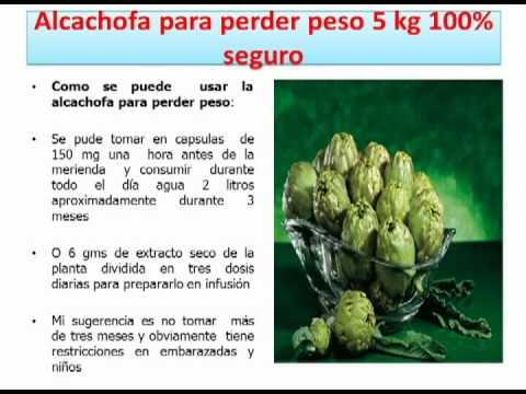 alcachofa para adelgazar como se preparar