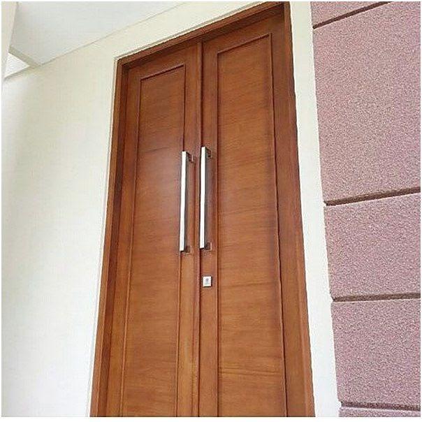 38 Model Pintu Rumah Minimalis Bukaan Satu Idaman Keluarga