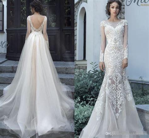 Milva Bridal 2017 Two Pieces Mermaid Wedding Dresses With