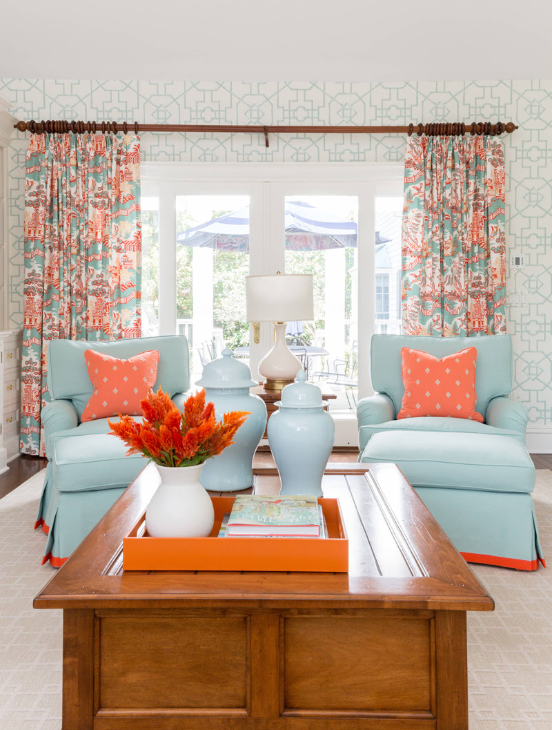 Reed & Acanthus Interior Design | House of Turquoise