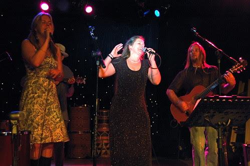 Reena on Stage - Cardboard snoot