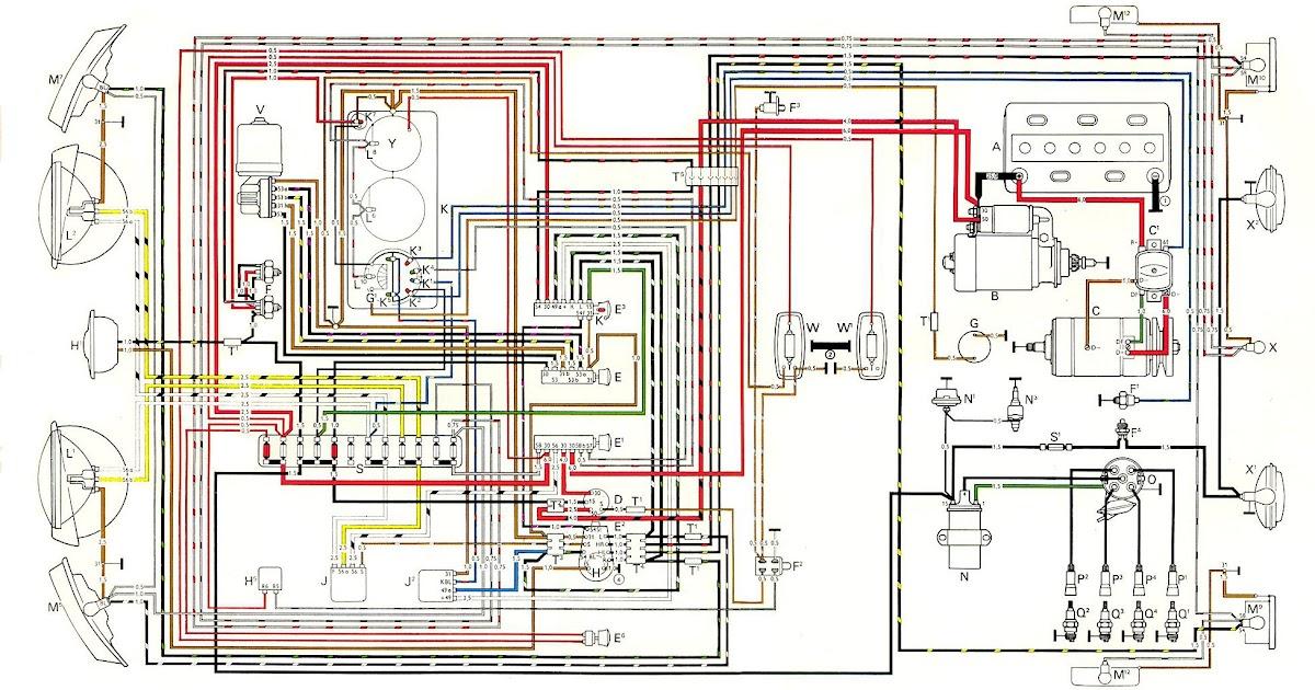 1958 Vw Van Wiring Diagram