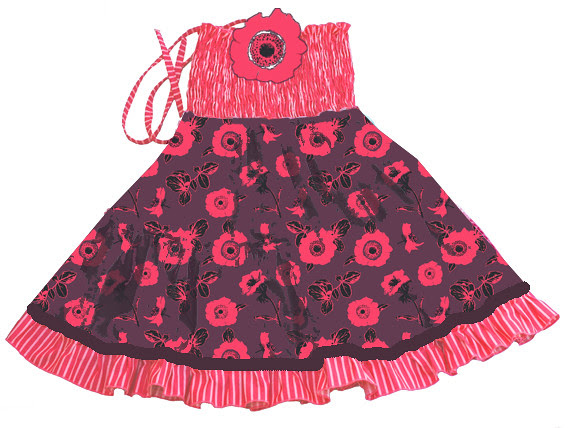 dress anemone mockup