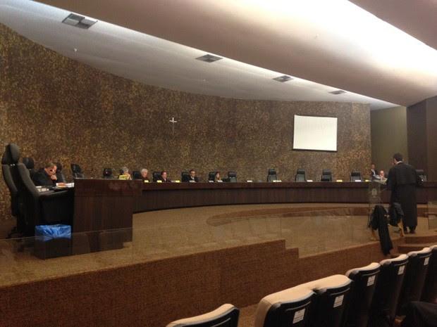 Julgamento do recurso acontece no Tribunal de Justiça de Alagoas (Foto: Natália Normande/G1)