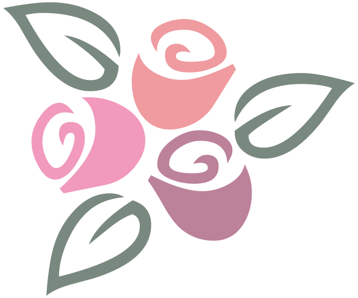 File:Three Roses Colored L.svg