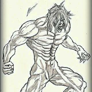 Dibujo De Titan Eren Attack On Titan Amino