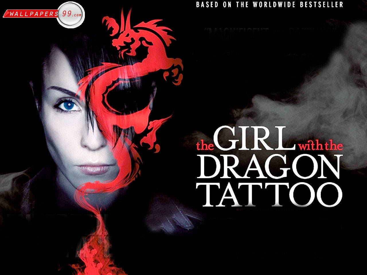 Gwtdt Wallpaper The Girl With The Dragon Tattoo Wallpaper