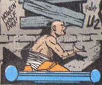 Could be some OTHER legless veteran on a hover sled, I suppose.