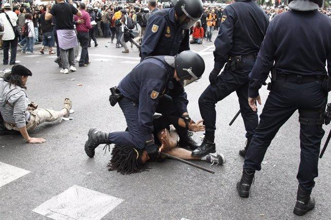 Manifestación 'Rodea al Congreso' el 25-S en Madrid