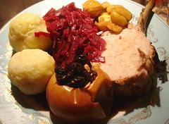 roast pork and friends