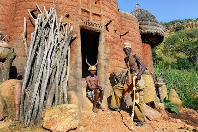 7. Дома в Бенине архитектура, африка, интересно, как живут люди, племена Африки, фото