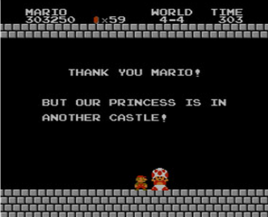 "Hopefully it won't take Nintendo long to find the ""Princess"""