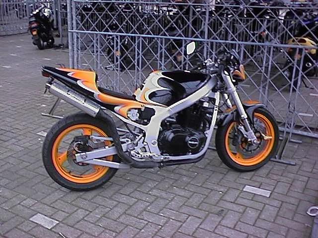 Suzuki Bandit Tail Conversion