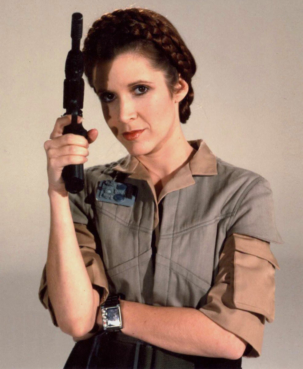 Image result for leia on the way to endor