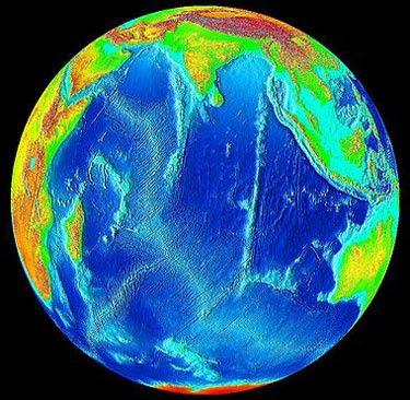 Indian Ocean sea levels