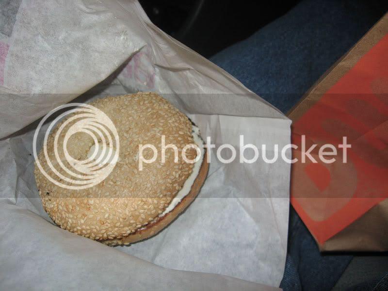 dunkin donuts seasme bagel
