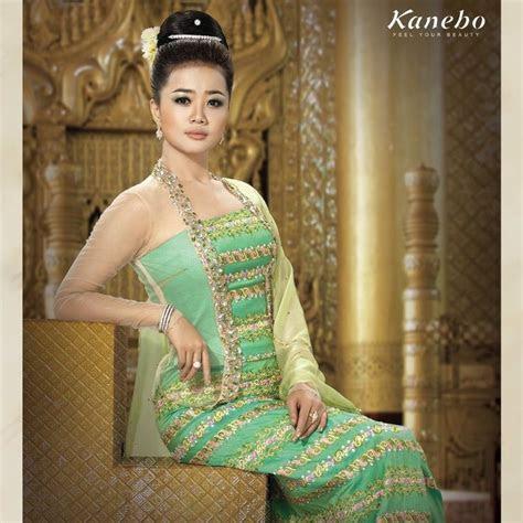 Pa Pa Win Khin   Myanmar Traditional Fashion   Myanmar