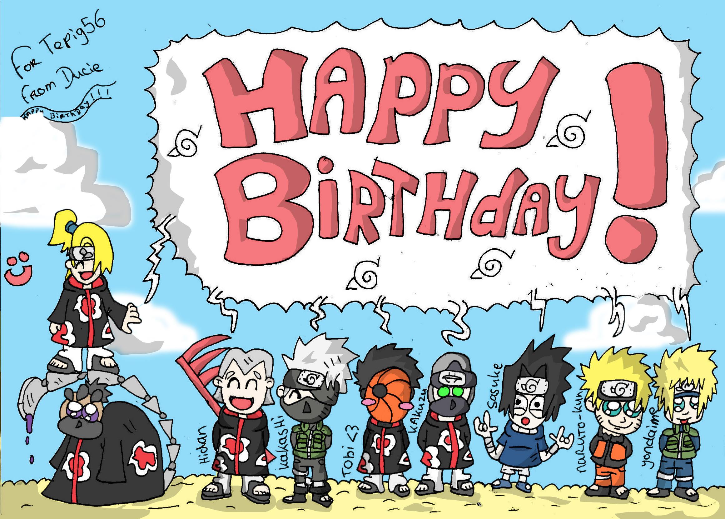 Gambar Anime Ucapan Selamat Ulang Tahun Anime Wallpapers