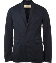 Burberry Brit Wickham Unstructured Cotton Blazer