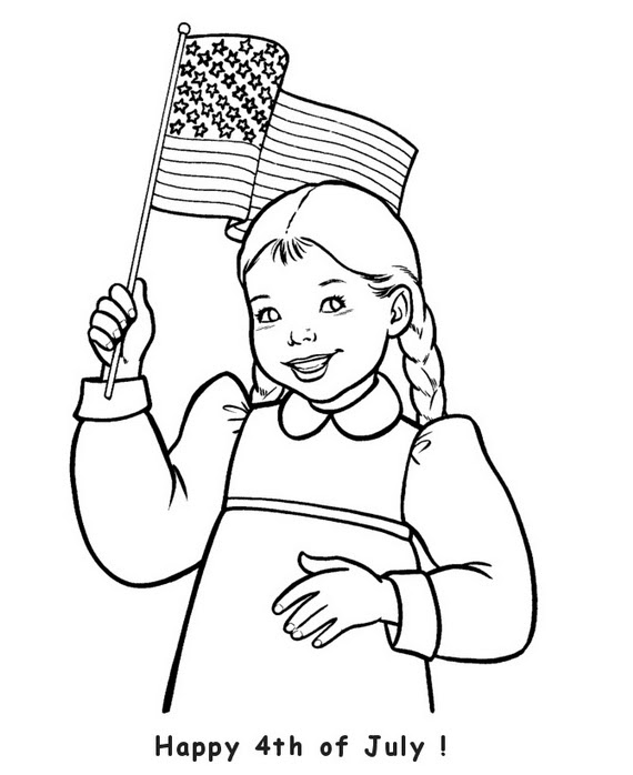 Independence Day Coloring Pages July Fourth_31