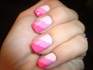 34 Amazing DIY Nail Art Ideas Using Scotch Tape (16)