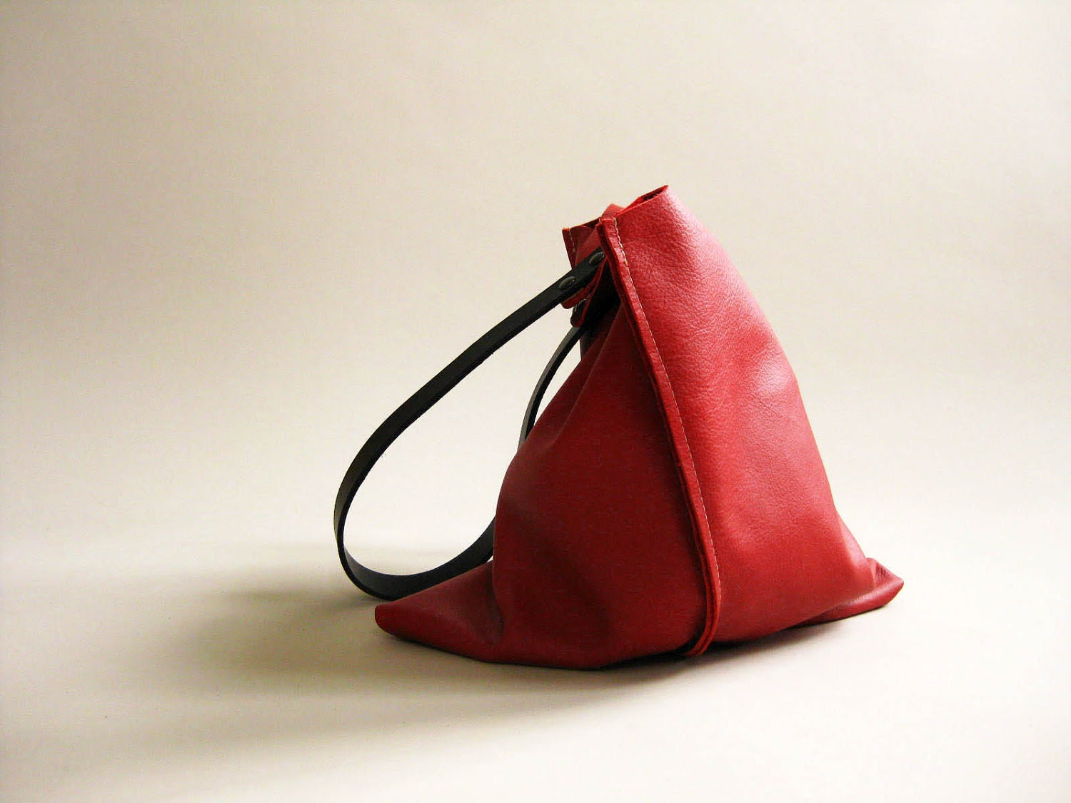 13in Wedge NEW - Primary collection - Classic Red leather