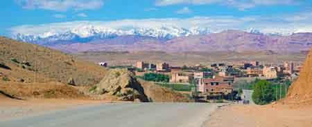 Skoura v<br /> <br /> allée du Dadès - Sud maroccain