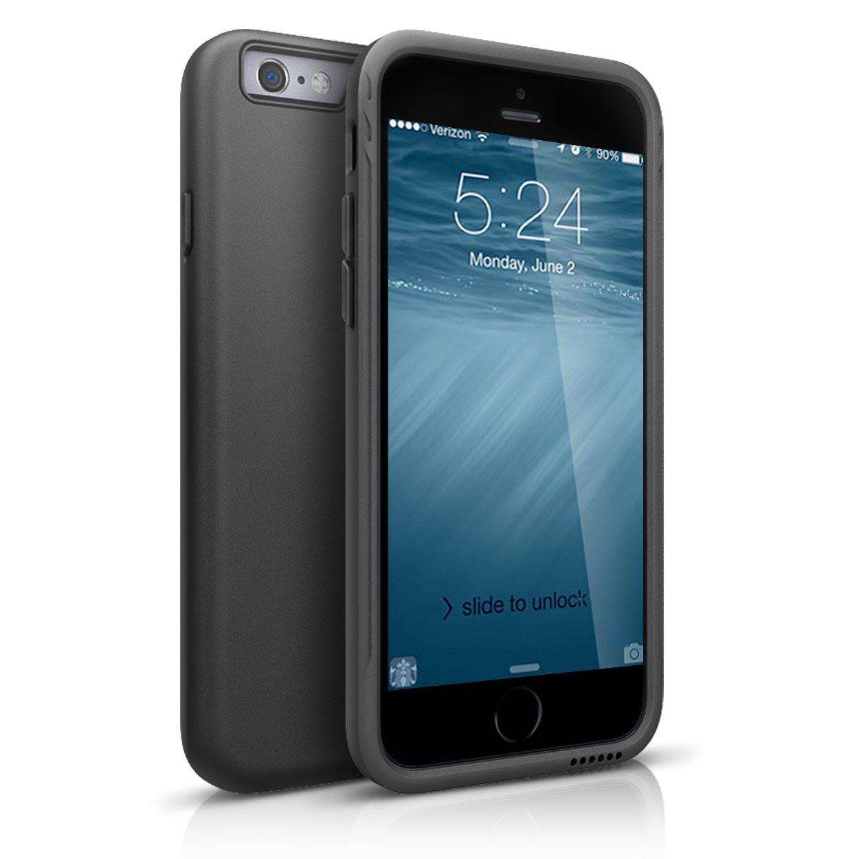 iPhone 6 Case, Maxboost DuraSLIM Series Soft TPU Bumper