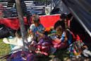 For migrant caravan's children, a long trek to a murky dream