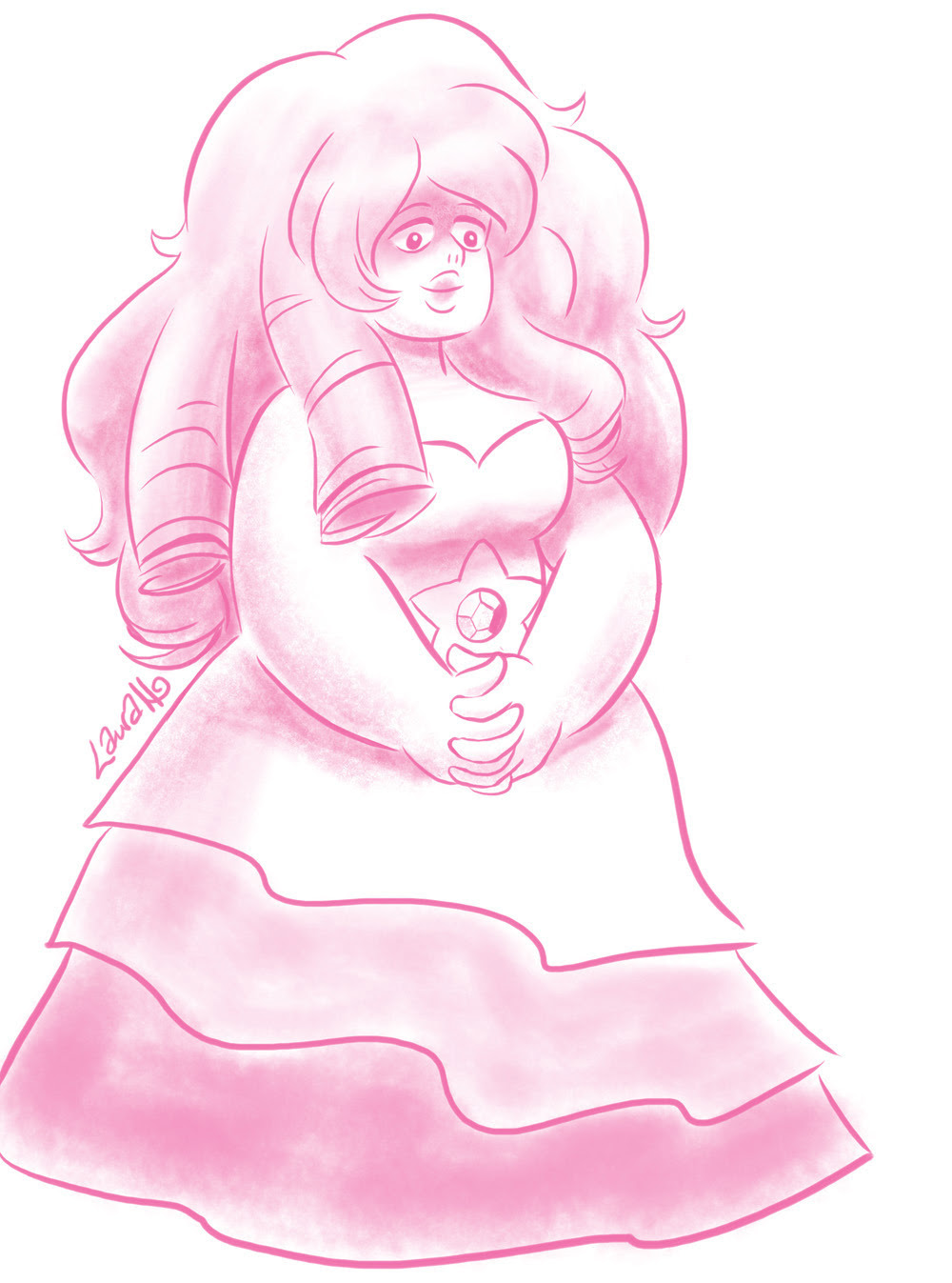 Very little time for sketching lately owing to crazy work-type deadlines, but I'll always try to squeeze in a #StevenUniverse when I'm in the mood